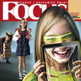 """""""Fokus"""" 2011; współpraca z ilustratorem Igorem Morskim"""